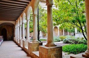 Portada del IV Congrés Català (Claustre de Sant Francesc)